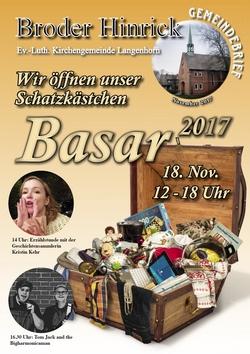 Cover Basar 2017, Gemeindebries Sonderausgabe