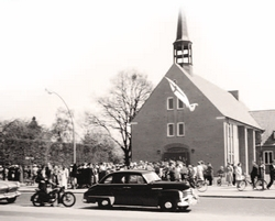 Broder Hinrick Kirche 1954