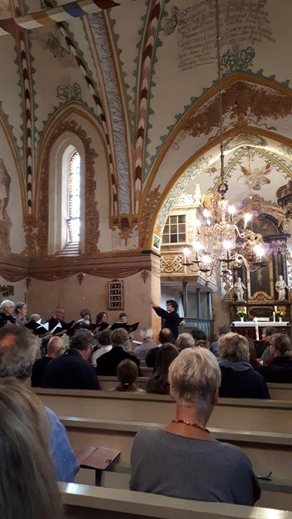 Kantorei Broder Hinrick singt in Rerik.