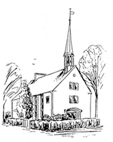 Skizze unserer Broder-Hinrick-Kirche
